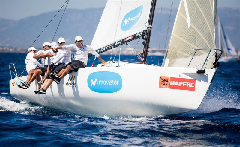 Bribon Movistar, winner of Herbalife J80 and Trofeo Especial MAPFRE monotype at the 36th Copa del Rey MAPFRE - photo © Tomas Moya / Copa del Rey MAPFRE