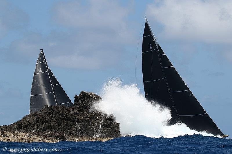 J Class at the Saint Barths Bucket regatta day 3 - photo © Ingrid Abery / www.ingridabery.com