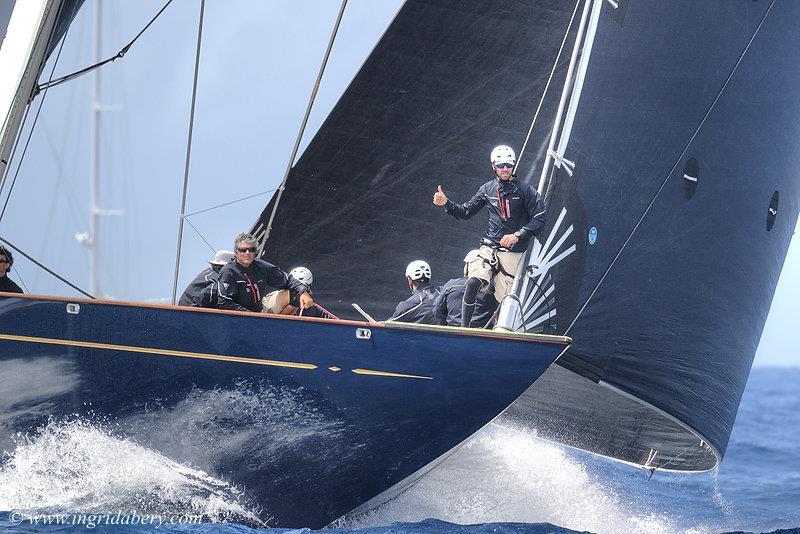 J Class at the Saint Barths Bucket regatta day 4 - photo © Ingrid Abery / www.ingridabery.com