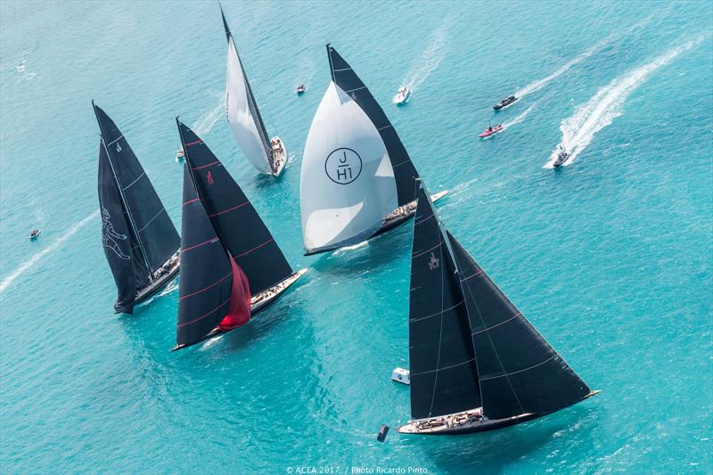 J Class Exhibition Race ahead of the 35th America's Cup Match - photo © ACEA 2017 / Ricardo Pinto