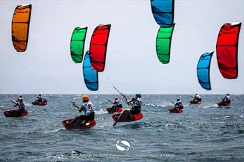 Formula Kite U19 and A's Youth Foil Worlds day 1