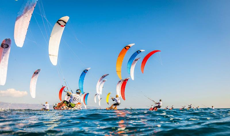 2017 IKA KiteFoil World Championships day 1 photo copyright Alex Schwarz taken at  and featuring the Kiteboarding class