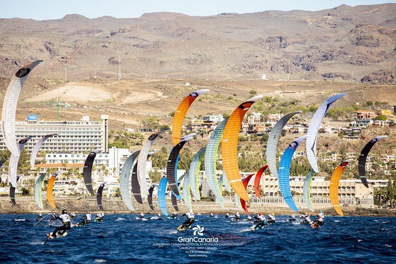 2020 Gran Canaria KiteFoil Open European Championships - photo © IKA Media / Alex Schwarz