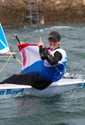 The two new Laser and Laser Radial World Champions Marit Bouwmeester and Nicholas Heiner - photo © Ocean Images