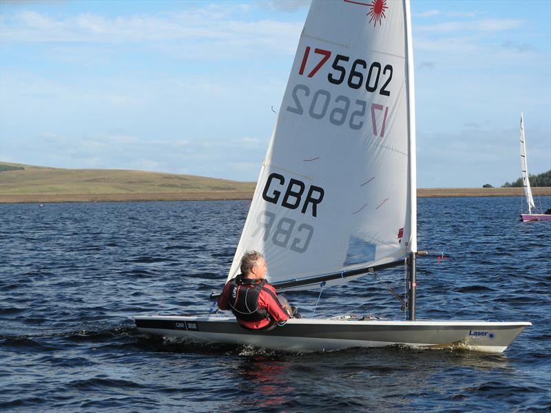 Neil Garrison, Laser winner at the Kielder Water September Open - photo © John Scullion