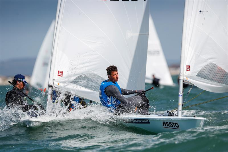 Jack Cookson on day 3 of the RYA Youth Nationals - photo © Paul Wyeth / RYA