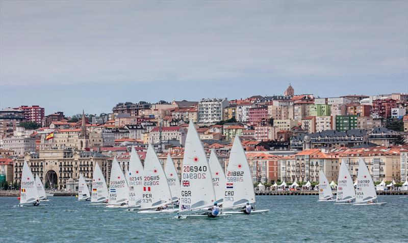 Sailing in the City on day 4 of the World Cup Series Final in Santander - photo © Jesus Renedo / Sailing Energy / World Sailing