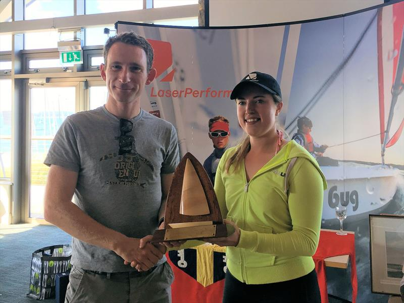 Ben Elvin wins the Radial fleet at the LaserPerformance Wildwind Laser Masters National Championships 2017 - photo © David Freeman