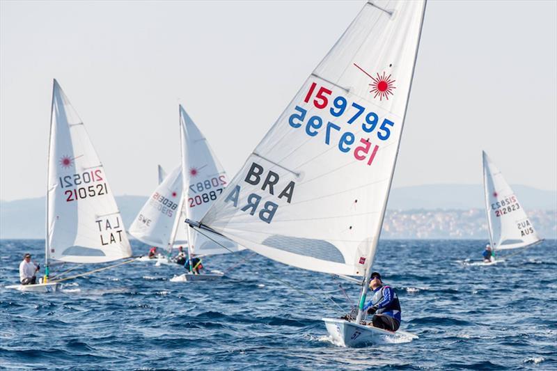2017 Laser Masters Worlds at Split, Croatia day 5 - photo © ILCA