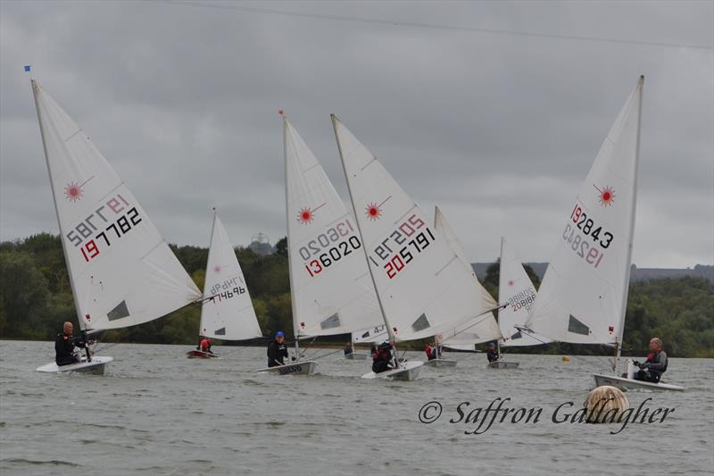 Lasers at Sutton Bingham Sailing Club - photo © Saffron Gallagher