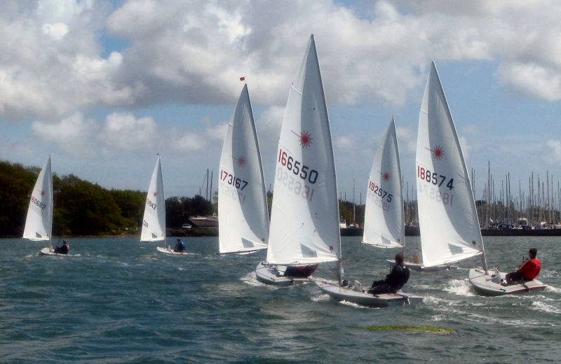 52 helms take part in the Laser open at Chichester