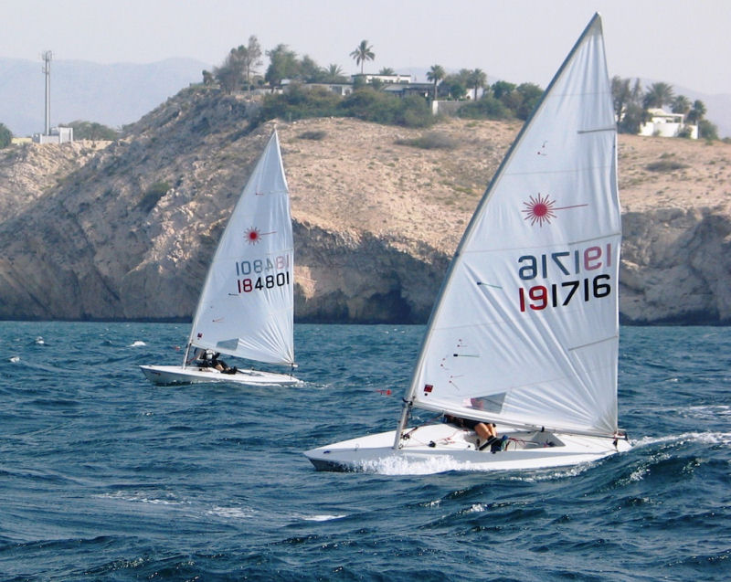 Volvo Laser Oman Nationals At Ras Al Hamra Boat Club