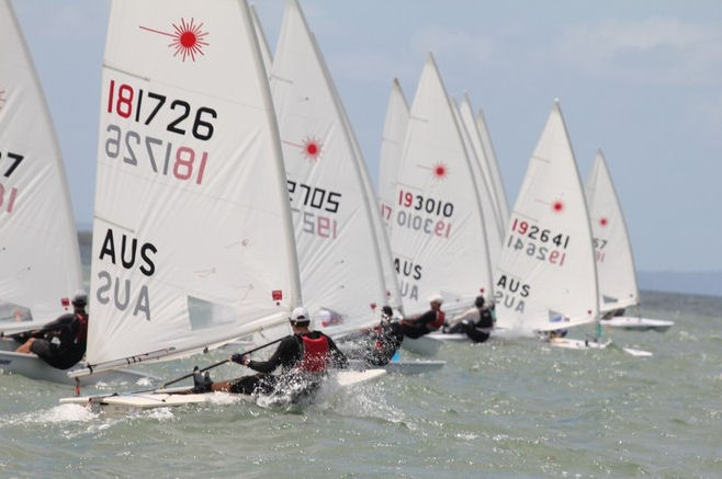 Laser World Masters Championships day 2