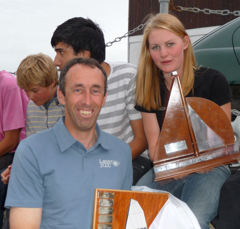 Rob Burridge & Amy Hulley win the Laser 2000 nationals at Penzance
