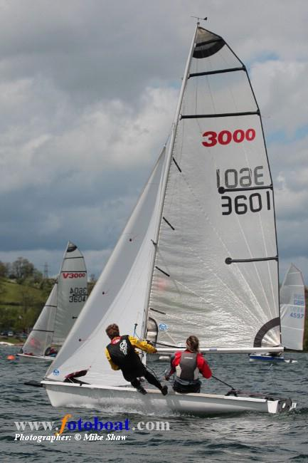3000s at Carsington photo copyright Mike Shaw / www.fotoboat.com taken at Carsington Sailing Club and featuring the 3000 class