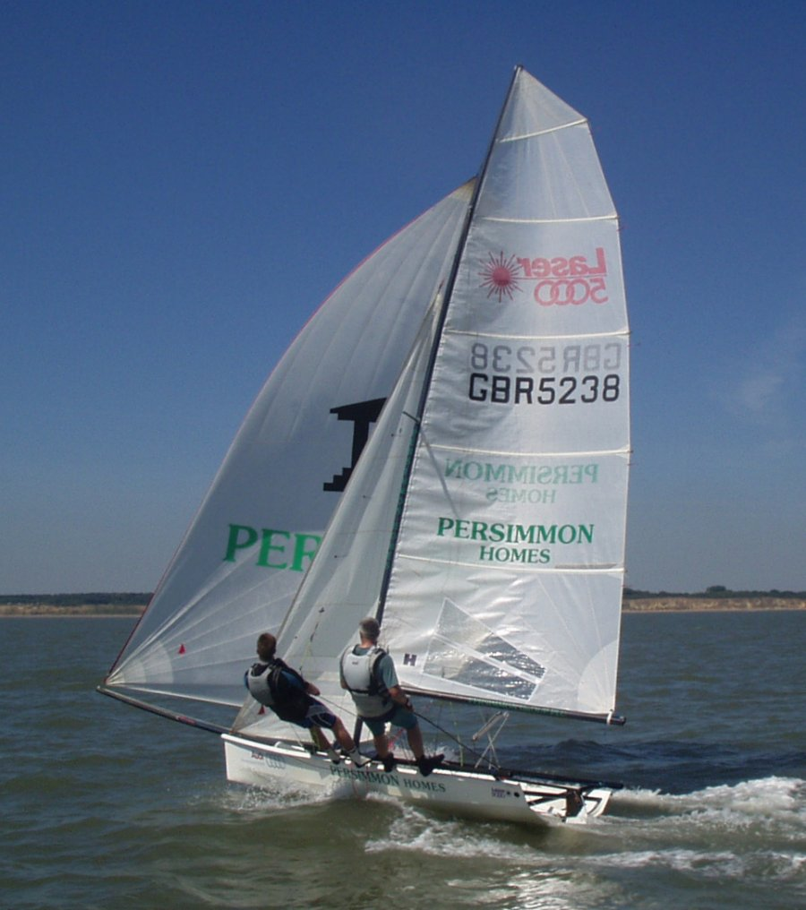 A Laser 5000 During The Sizewell Race At Southwold Sc