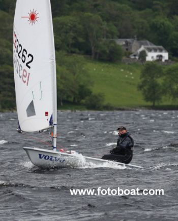 Rosalind Dunlop during the Brown Cup at Loch Earn