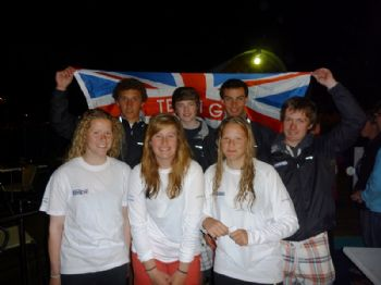 RYA Volvo Youth National Squad Laser Radial Sailors