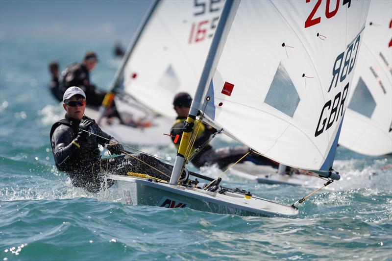 Jamie Calder on day 4 of the RYA Youth National Championships - photo © Paul Wyeth / RYA