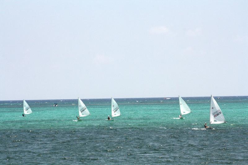 Top Laser Radial sailors at Belize Sailing School - photo © Belize Sailing School