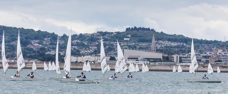KBC Laser Radial World Championships in Ireland - Day 1 - photo © David Branigan / www.oceansport.ie