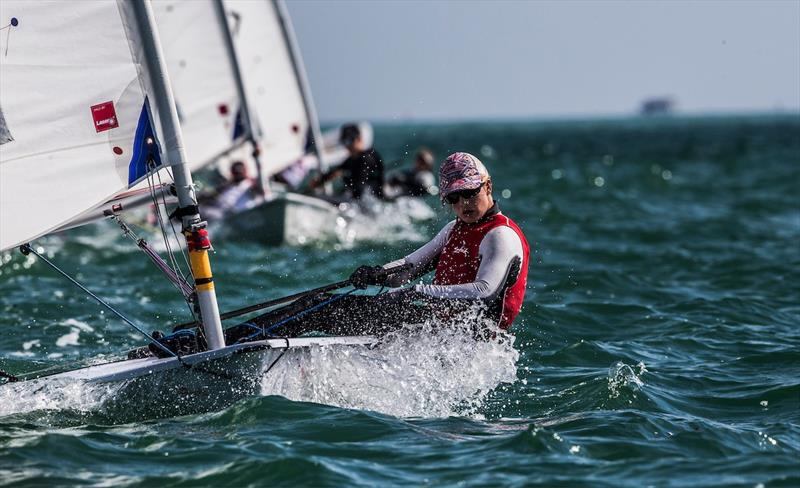 Mathilde de Karangat (FRA) on day 4 of World Cup Series Miami - photo © Pedro Martinez / Sailing Energy / World Sailing