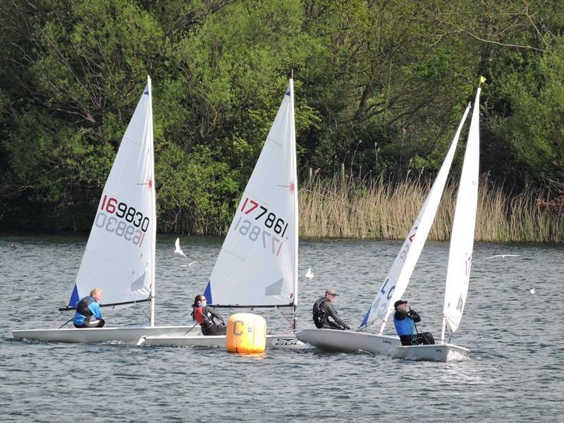 Littleton Laser Open photo copyright Martin Brown taken at Littleton Sailing Club and featuring the Laser Radial class