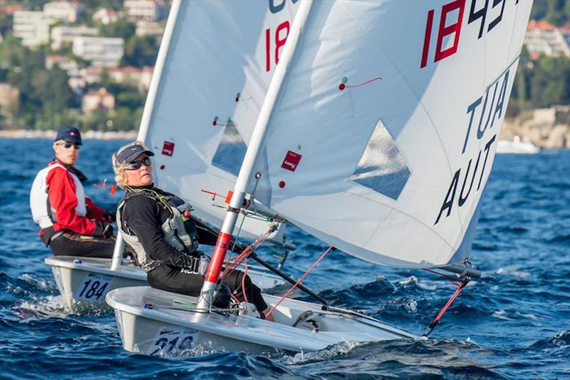 2017 Laser Masters Worlds at Split, Croatia final day - photo © ILCA