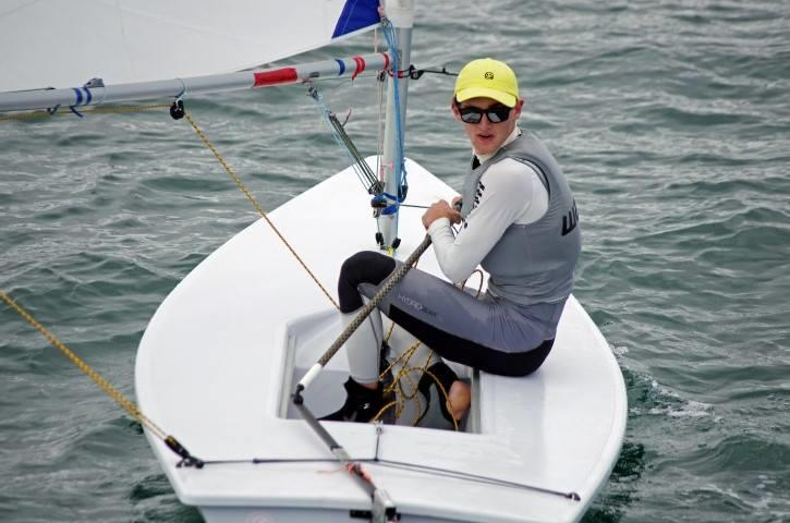 Zac Littlewood during the Western Australian Youth Championships - photo © Rick Steuart / Perth Sailing Photography
