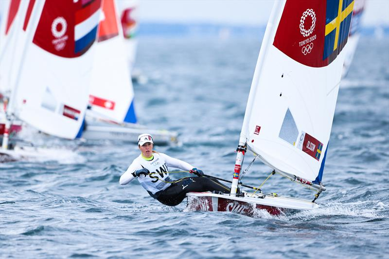 Josefin Olsson (SWE) on Tokyo 2020 Olympic Sailing Competition Day 3 - photo © Sailing Energy / World Sailing