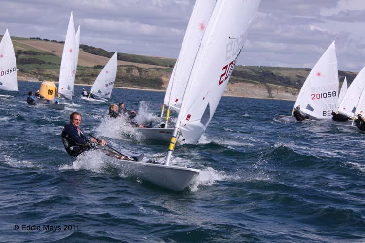Jon Emmett is first GBR boat and 4th overall at the Radial Nationals