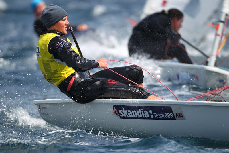 Alison Young finishes fourth at the Audi Women's Laser Radial worlds