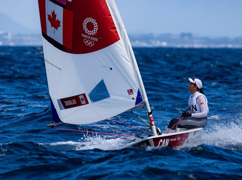 Sarah Douglas (CAN) on Tokyo 2020 Olympic Sailing Competition Day 5 - photo © Sailing Energy / World Sailing