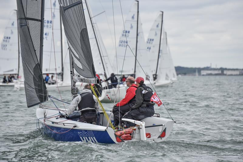 PB2 on the final weekend of the Crewsaver Warsash Spring Championship - photo © Andrew Adams / www.closehauledphotography.com