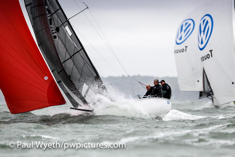Hamble One Design Championships day 1 - photo © Paul Wyeth / www.pwpictures.com