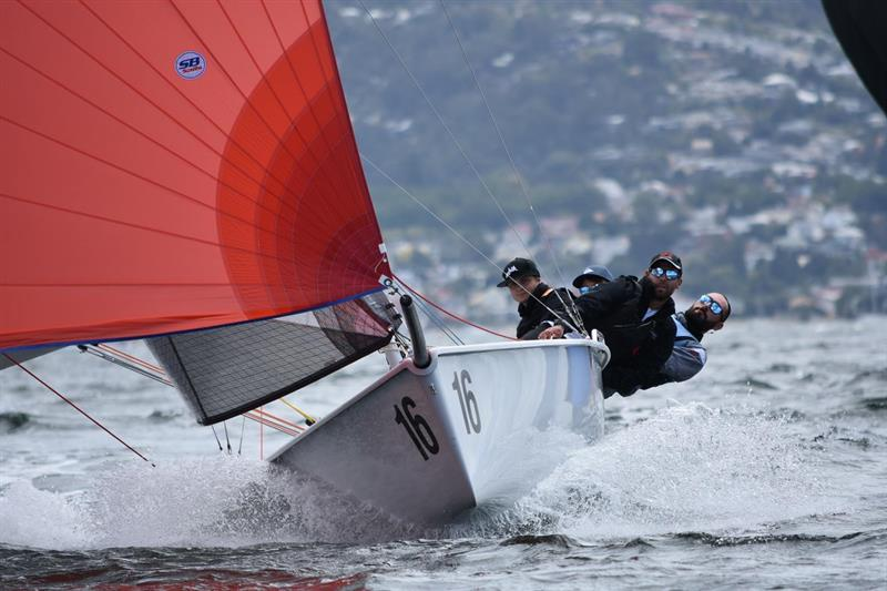 Runner-up in SB20 worlds was Give Me 5 – French Youth Team which won the Youth and Corinthian trophies - photo © Jane Austin
