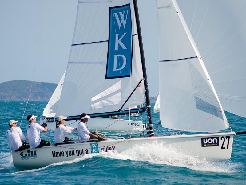 Uon Sb20 World Championships At Hamilton Island Yacht Club