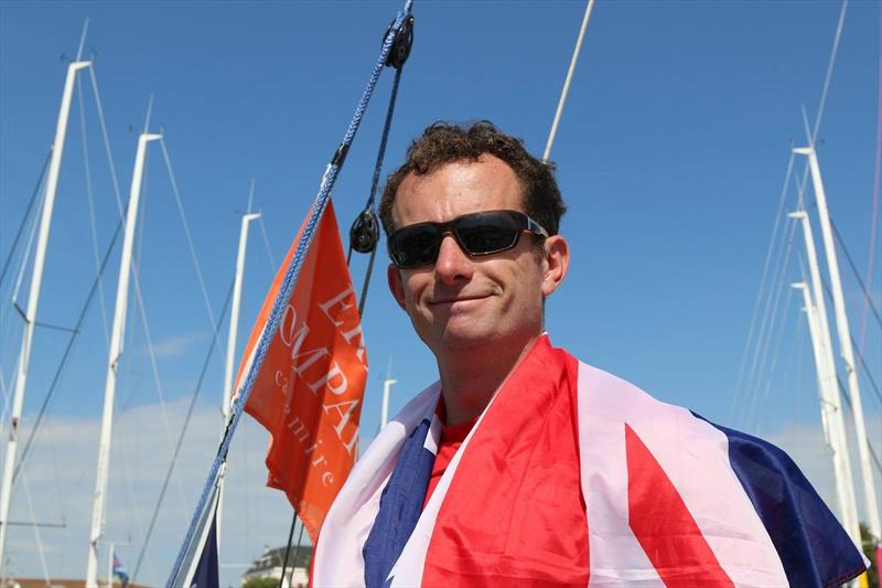Nick Cherry is proud to have finished his fifth Solitaire Bompard Le Figaro in 18th overall - photo © Artemis Offshore Academy