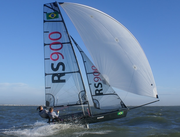 The all new RS900 will be on the Yachts & Yachting stand at the RYA Volvo Dinghy Show