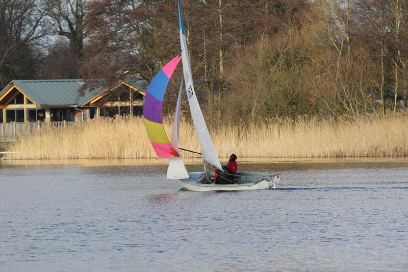Leader Nationals at the Rollesby Broad Multisail Open Regatta - photo © John Ayres