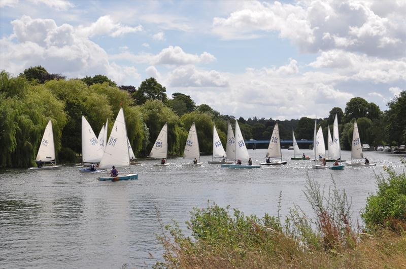 Lightning 368 Southern Championship at Cookham Reach photo copyright George and Susan Kronfli taken at Cookham Reach Sailing Club and featuring the Lightning 368 class
