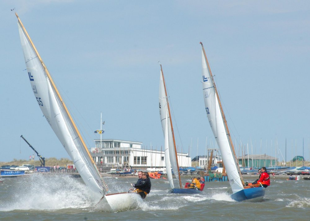 Action from Loch Long sailing week at Aldeburgh