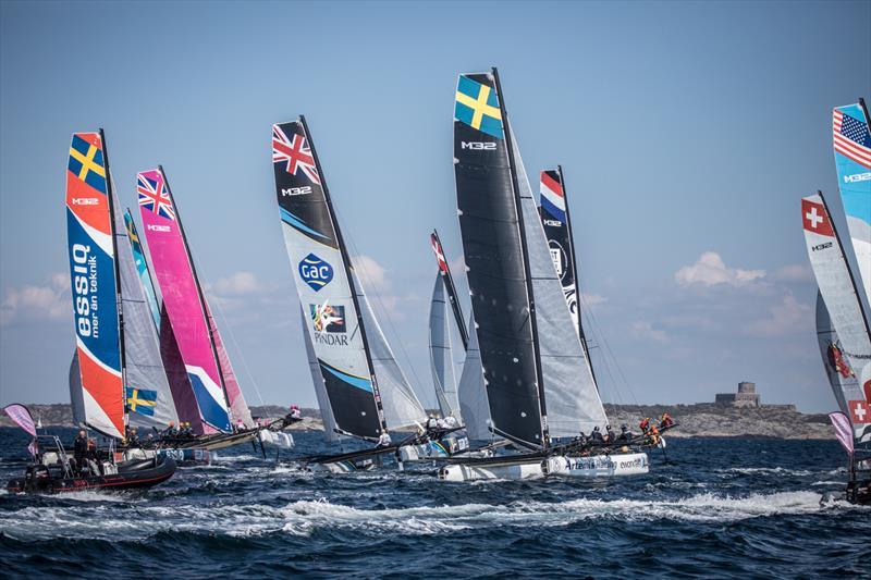 M32 World Championship day 3 - photo © Anton Klock / M32 Worlds