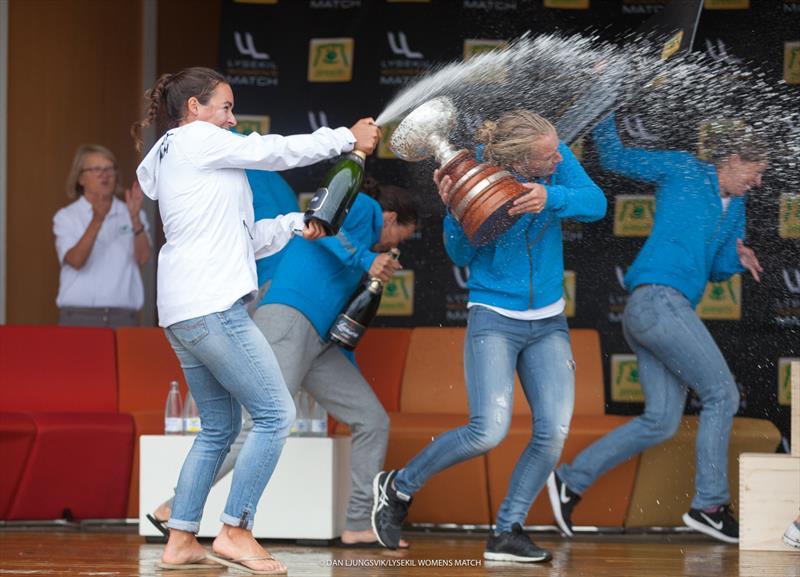 The Dutch Match Racing Team win the Lysekil Women's Match - photo © Dan Ljungsvik / LWM
