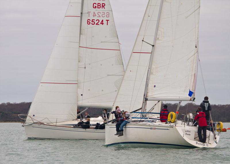 Commodore's Challenge 2011 photo copyright Mike Millard taken at Poole Yacht Club and featuring the Match Racing class
