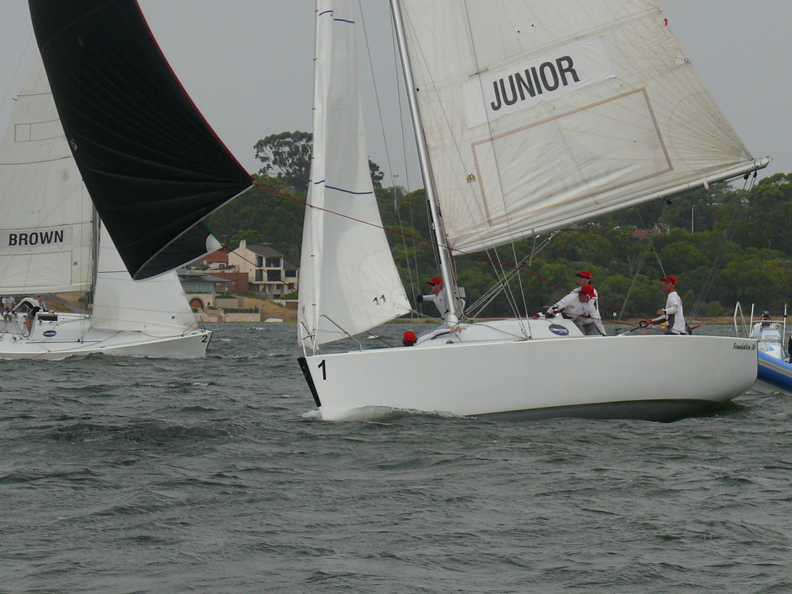 Warren Jones International Youth Regatta day 3