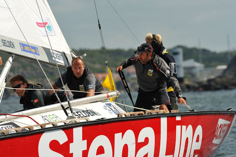 Bjorn Hansen (SWE) Mekonomen Sailing Team takes second place at STENA Match Cup Sweden 2011