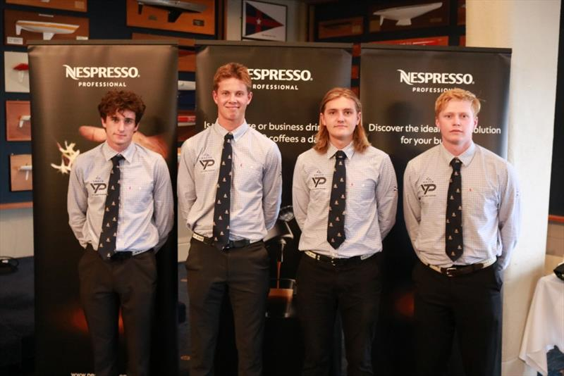 RNZYS YTP James Wilson - Nespresso Youth International Match Racing Cup 2018 photo copyright Andrew Delves taken at Royal New Zealand Yacht Squadron and featuring the Match Racing class