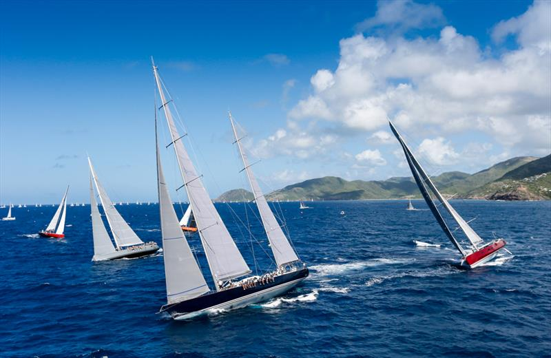 Sir Peter Harrison's Farr 115, Sojana on the final day at Antigua Sailing Week - photo © Paul Wyeth / www.pwpictures.com