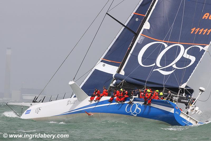 CQS on a very windy day 6 at Lendy Cowes Week 2017 - photo © Ingrid Abery / www.ingridabery.com